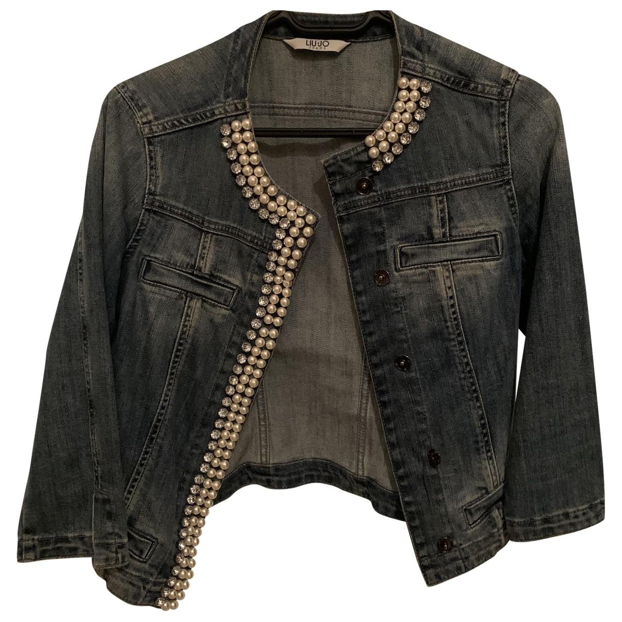 Liu.jo \N Blue Denim - Jeans jacket for Women 42 IT