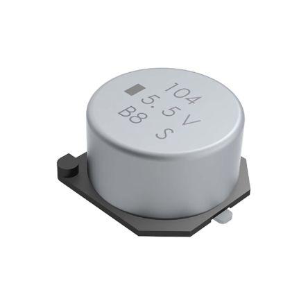 KEMET 0.22F Supercapacitor -20 → +80% Tolerance, Supercap FC 3.5V dc, Surface Mount (2)