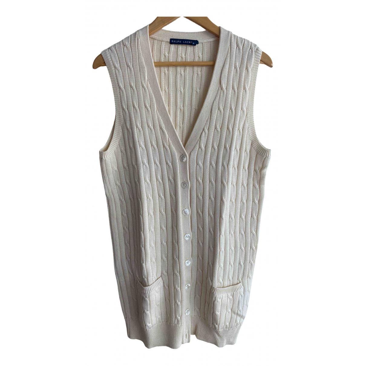 Ralph Lauren N Ecru Cotton Knitwear for Women XL International