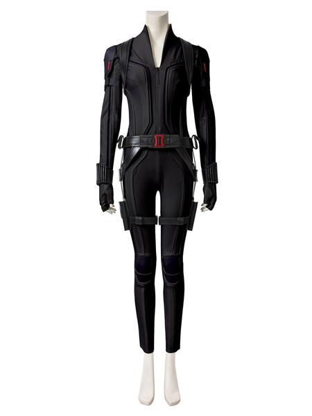 Milanoo Marvel Comics Black Widow Film 2020 Cosplay Natasha Romanoff PU Cosplay Costume
