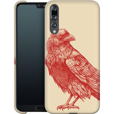 Huawei P20 Pro Smartphone Huelle - Red Raven von Terry Fan