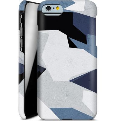 Apple iPhone 6s Smartphone Huelle - Geometric Camo Blue von caseable Designs