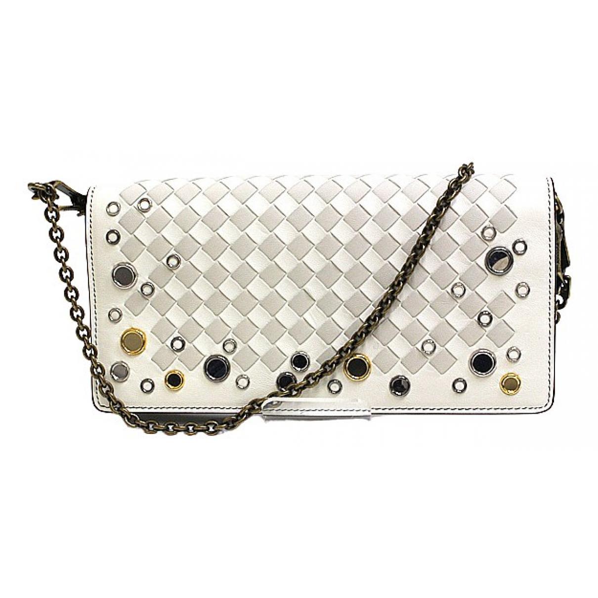 Bottega Veneta Intrecciato White Leather wallet for Women \N