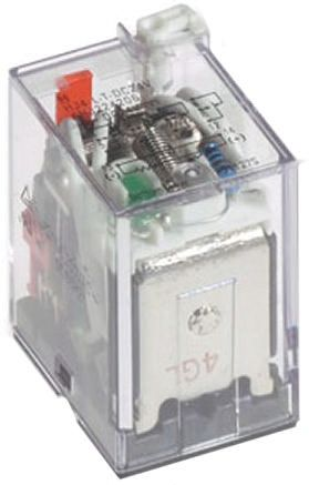 Panasonic , 12V dc Coil Non-Latching Relay DPDT, 7A Switching Current PCB Mount