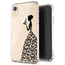 Figure Print Clear iPhone Case