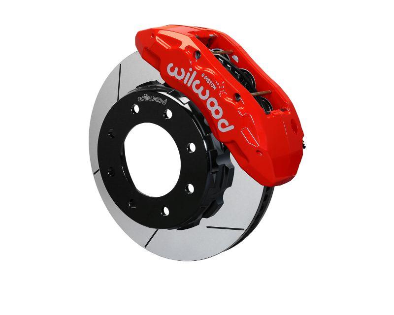 Wilwood 140-13874-R TX6R Rear Kit 15.50 Inch Red GM 2500 HD 11-19