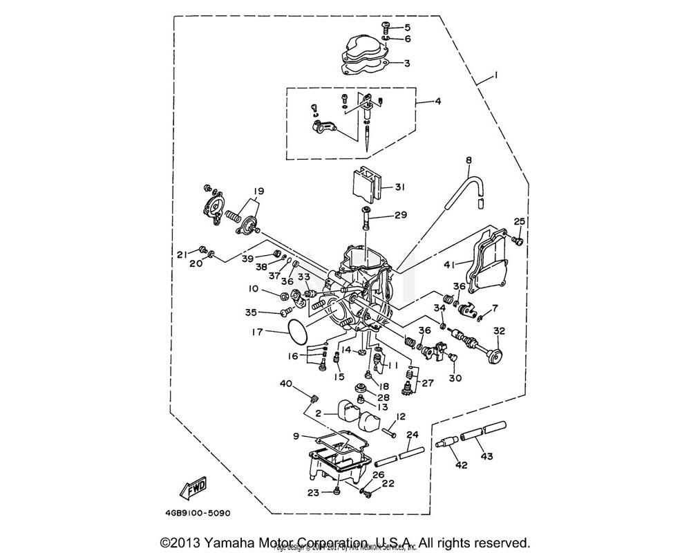 Yamaha OEM 36X-14169-00-00 CAP