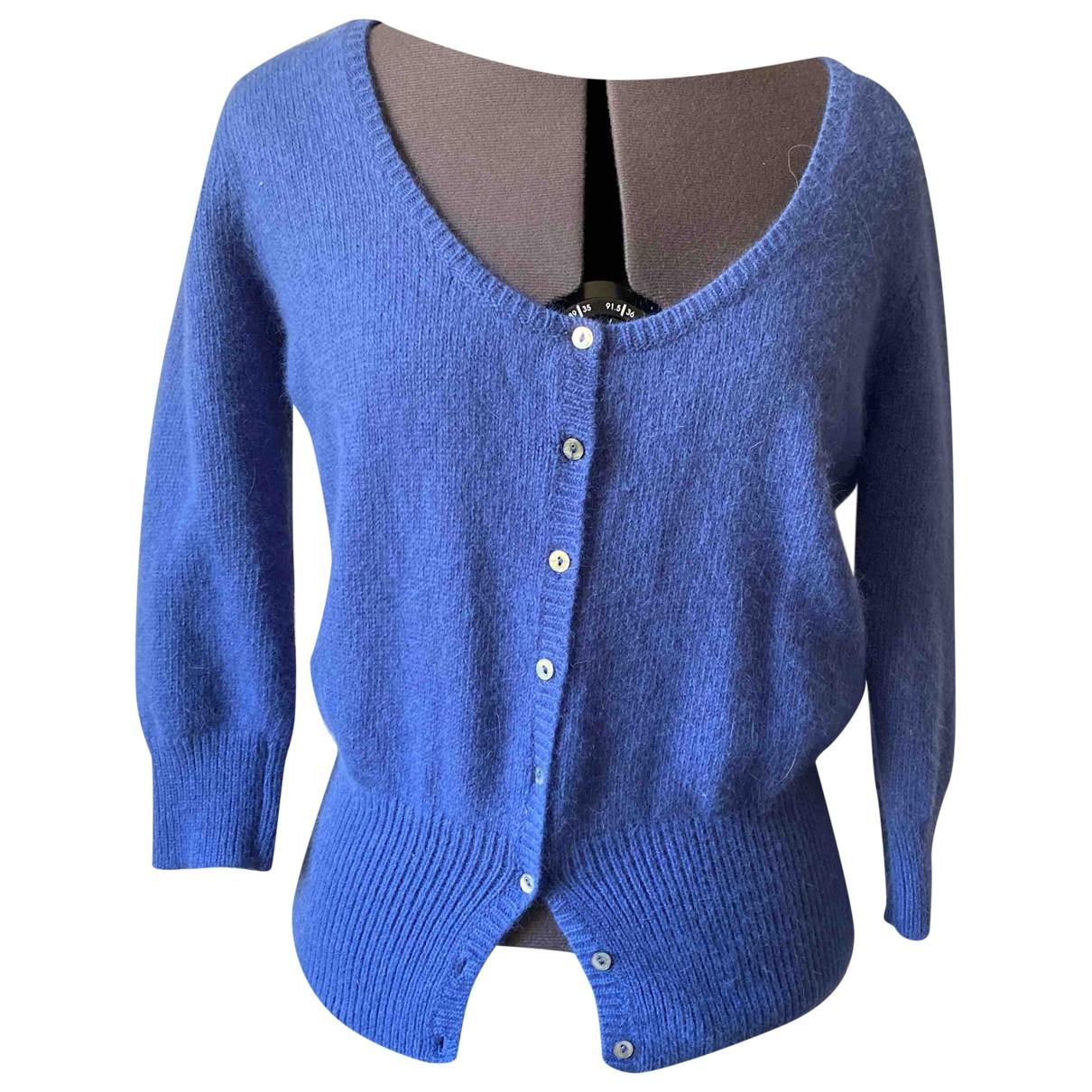 Zara \N Pullover in  Blau Wolle