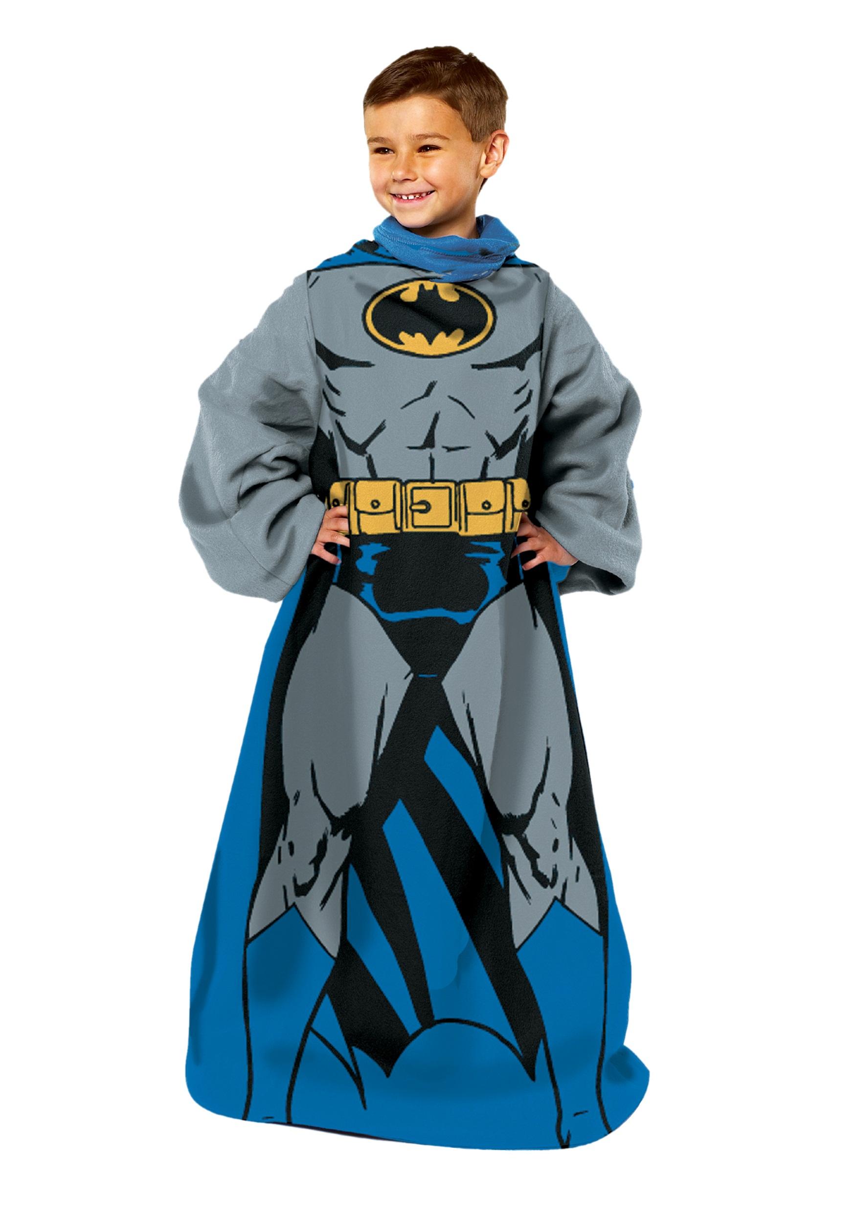 Being Batman Child Comfy Throw Costume