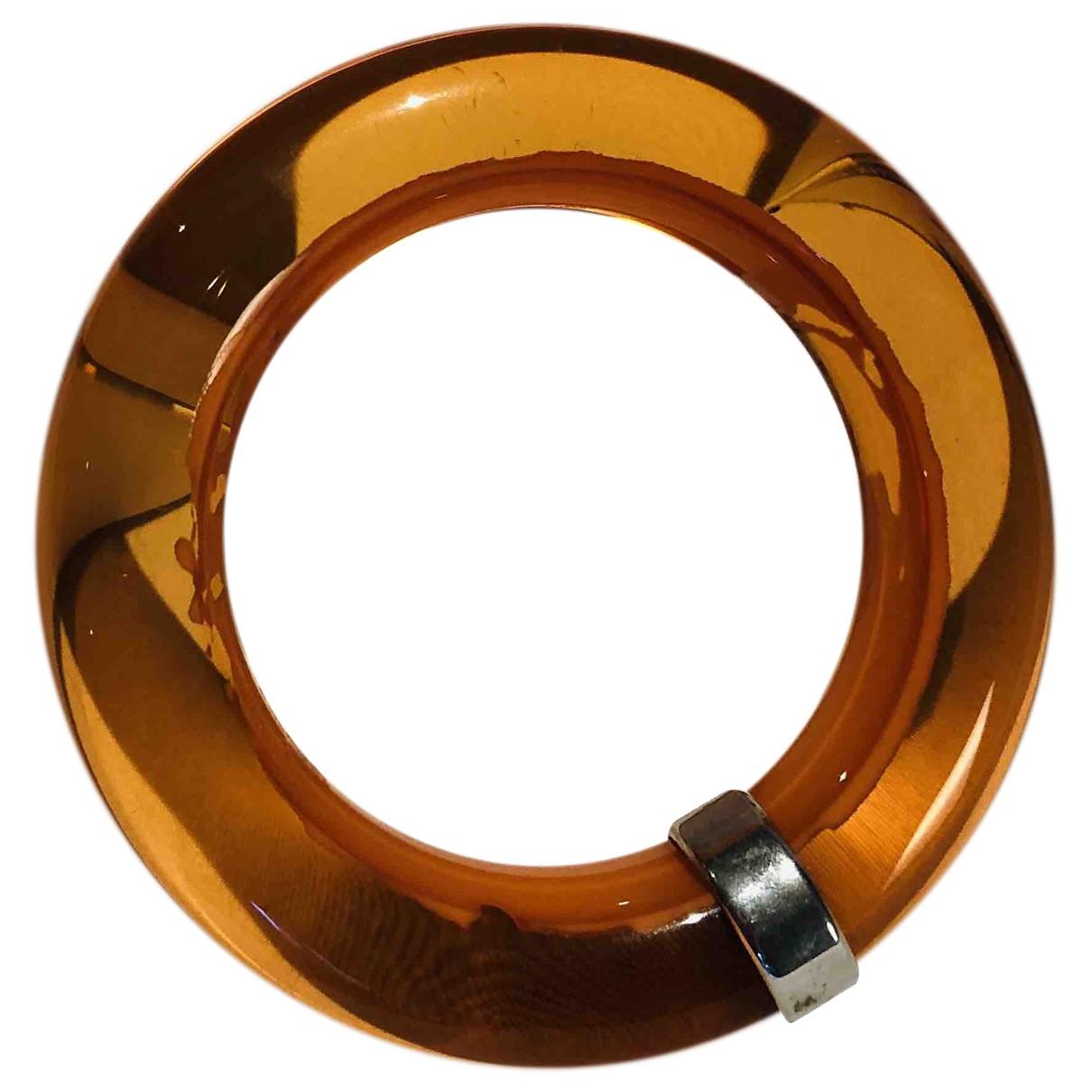 Celine \N Orange Metal bracelet for Women \N