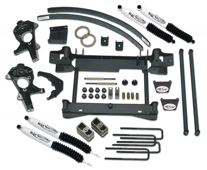Tuff Country 16955KN Complete Kit (w/SX8000 Shocks)-6in.