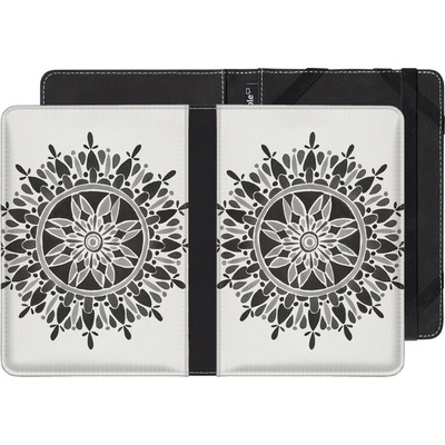 Kobo Aura Edition 2 eBook Reader Huelle - Mandala Black von Cat Coquillette