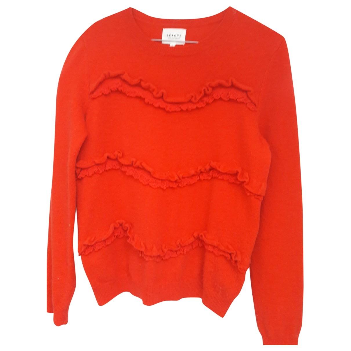 Sézane \N Red Wool Knitwear for Women S International