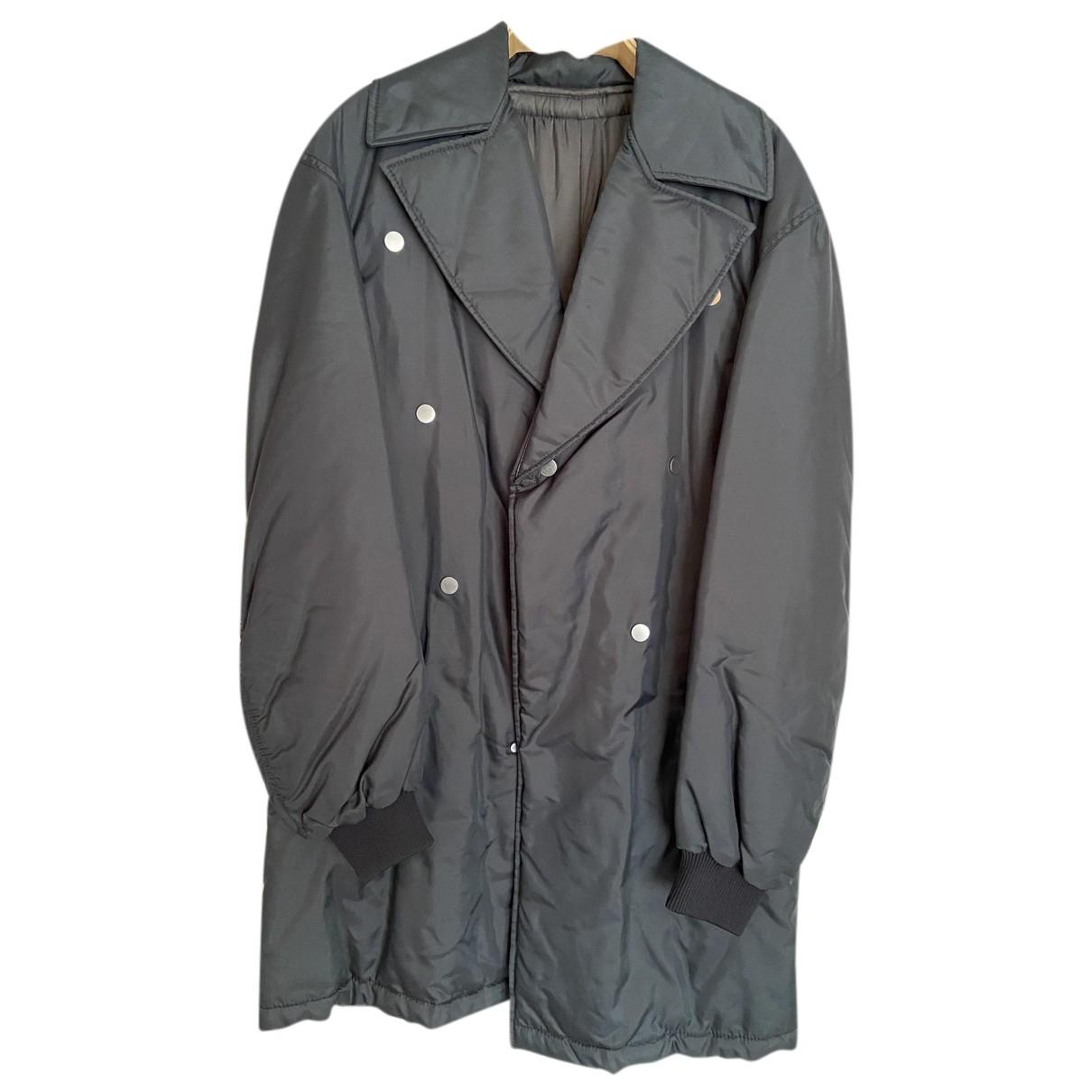 Raf Simons - Manteau   pour homme en toile - gris