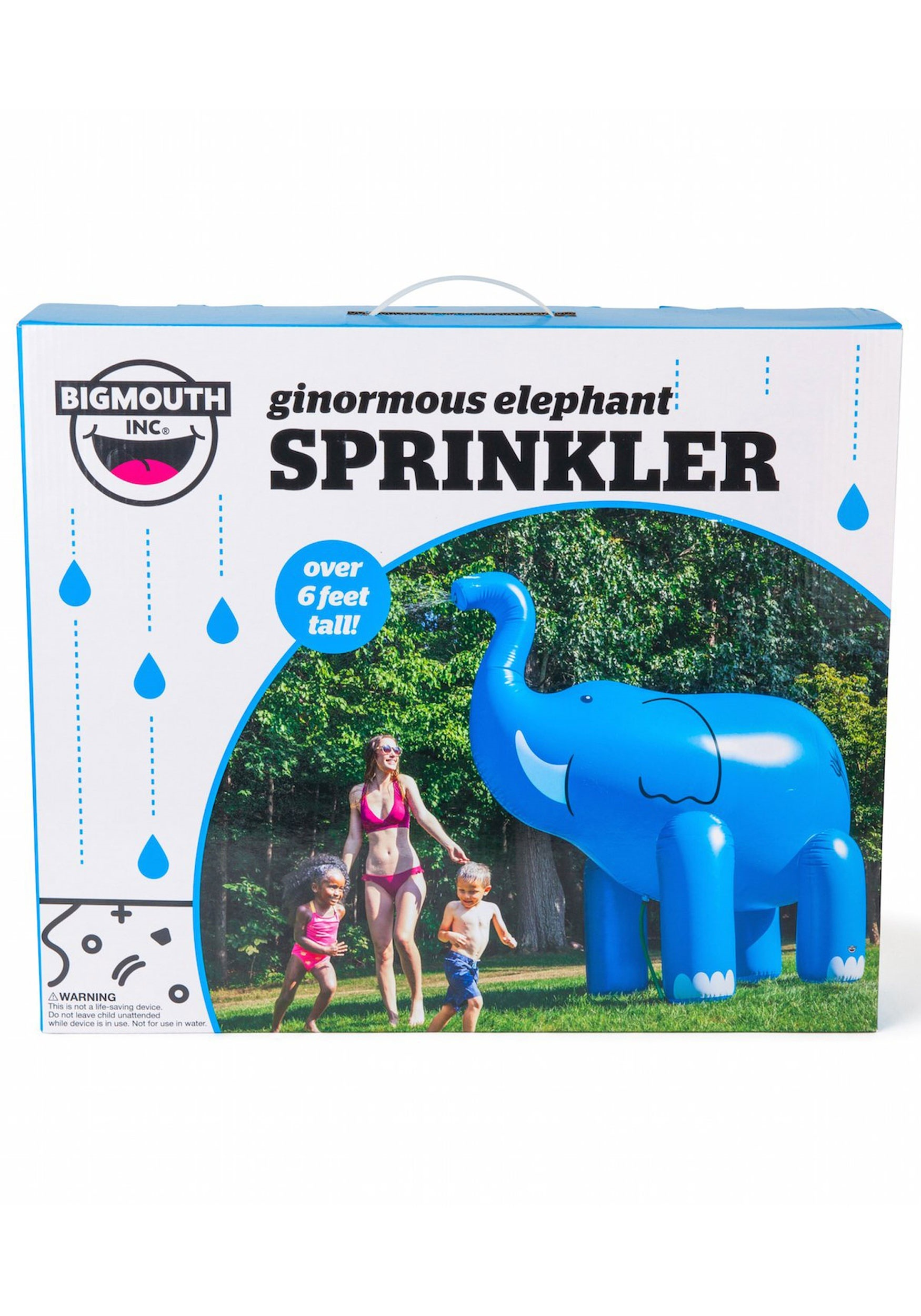 Inflatable Giant Elephant Yard Sprinkler