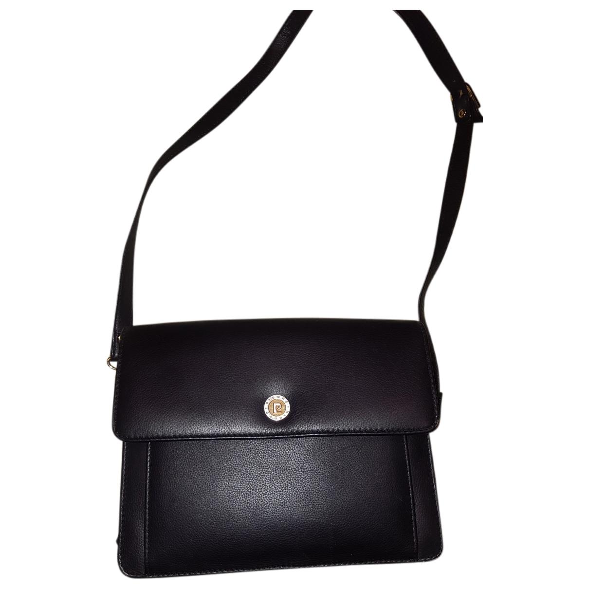 Pierre Cardin - Sac a main   pour femme en cuir - noir