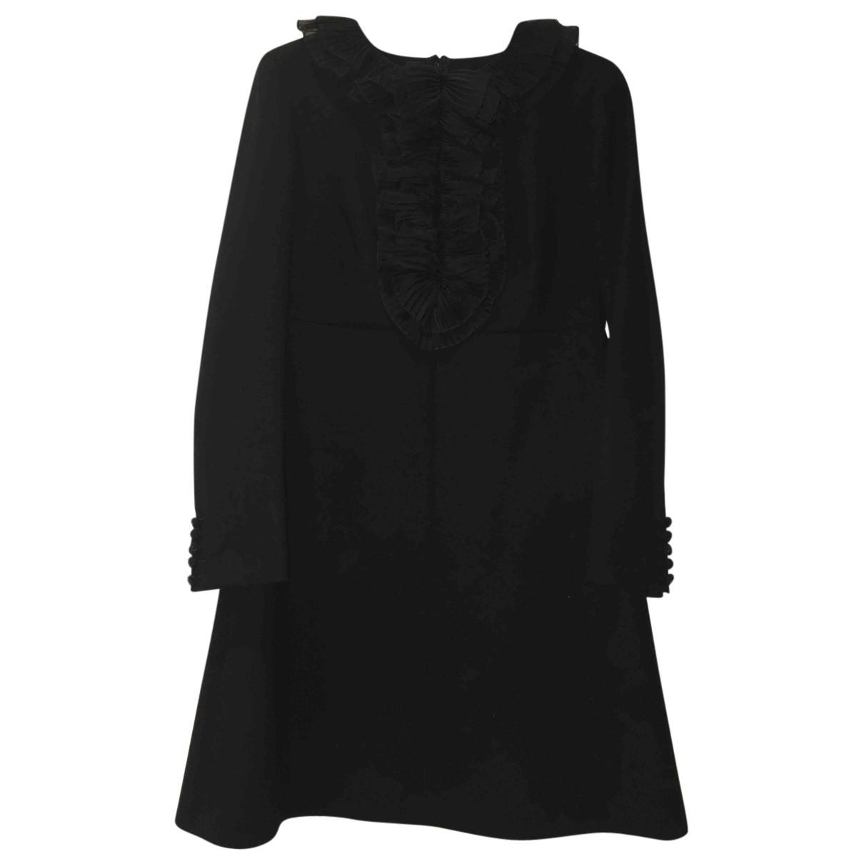 Saint Laurent - Robe   pour femme en laine - noir