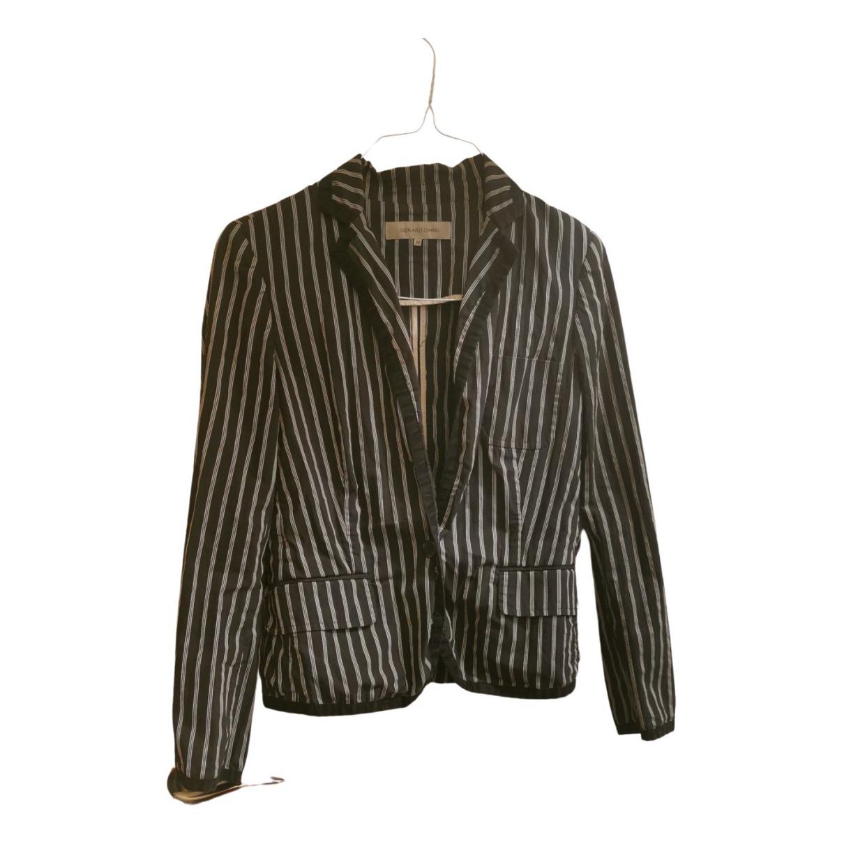 Gerard Darel - Veste   pour femme en coton - marine