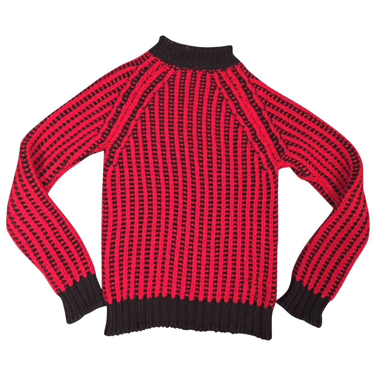 Costume National \N Pullover in  Rot Wolle