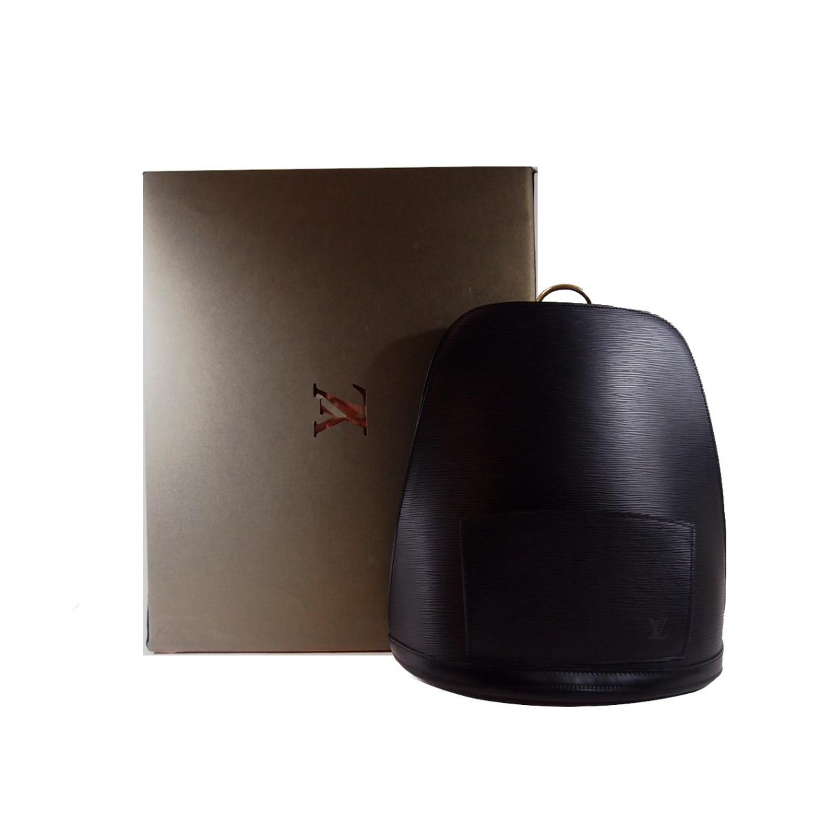 Louis Vuitton Gobelins Vintage Rucksaecke in  Schwarz Leder