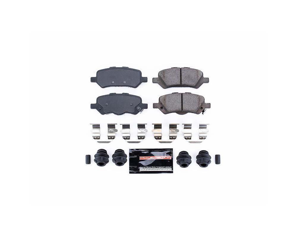 Power Stop Z23-1402 Z23 Evolution Sport Brake Pads w/Hardware Rear Toyota Venza 2009-2016