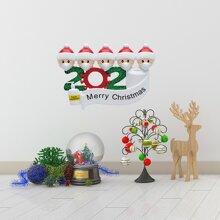 Christmas Cartoon Graphic Wall Sticker