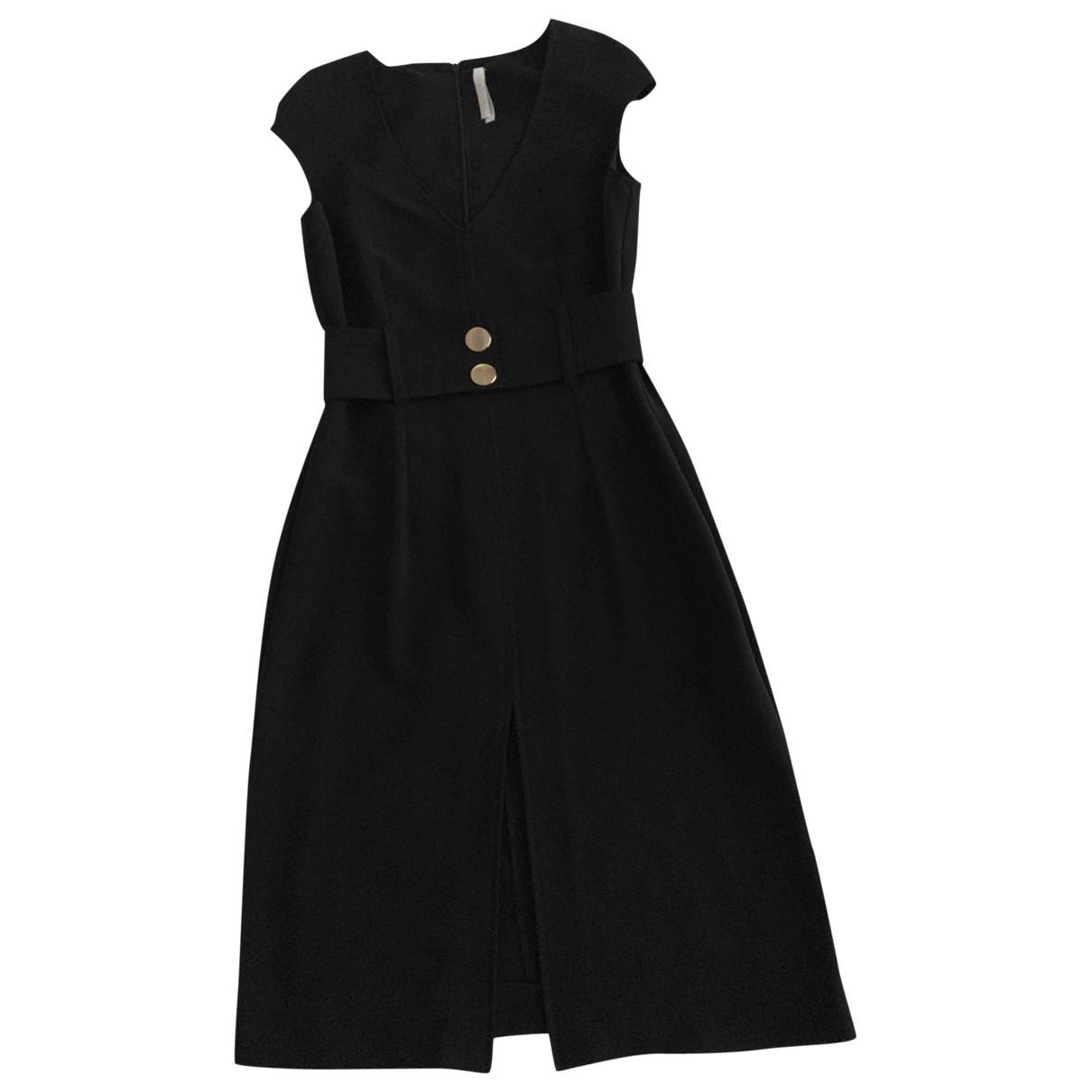 Imperial \N Kleid in  Schwarz Polyester