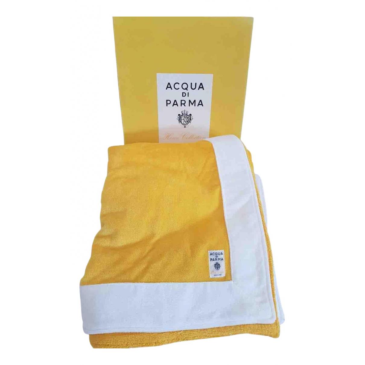 Acqua Di Parma \N Heimtextilien in  Gelb Baumwolle