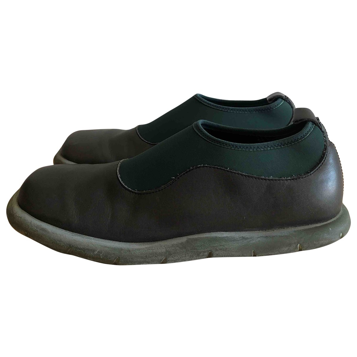Camper \N Green Leather Espadrilles for Men 41 EU