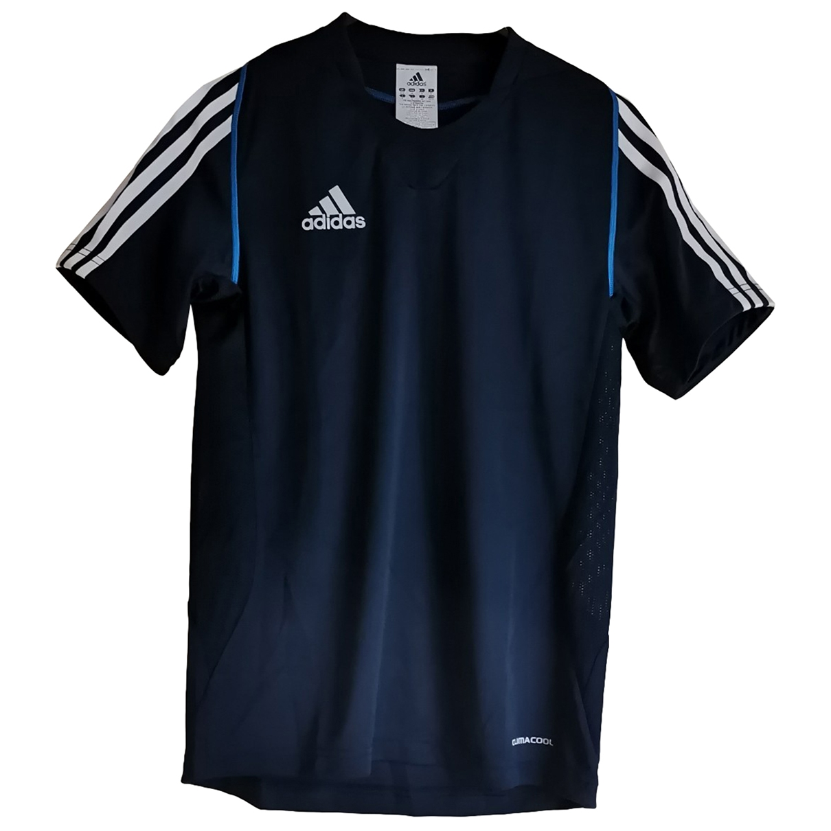 Adidas \N Top in  Blau Polyester