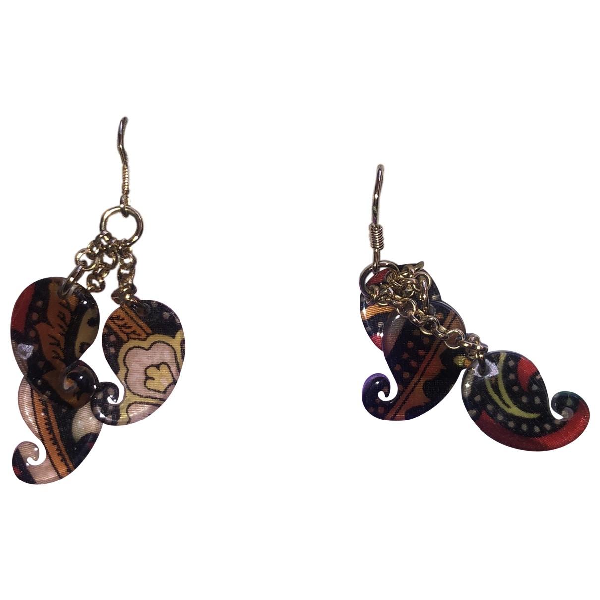 Etro N Brown Earrings for Women N