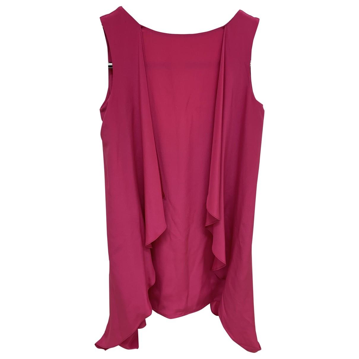 Mini vestido de Seda Flavio Castellani