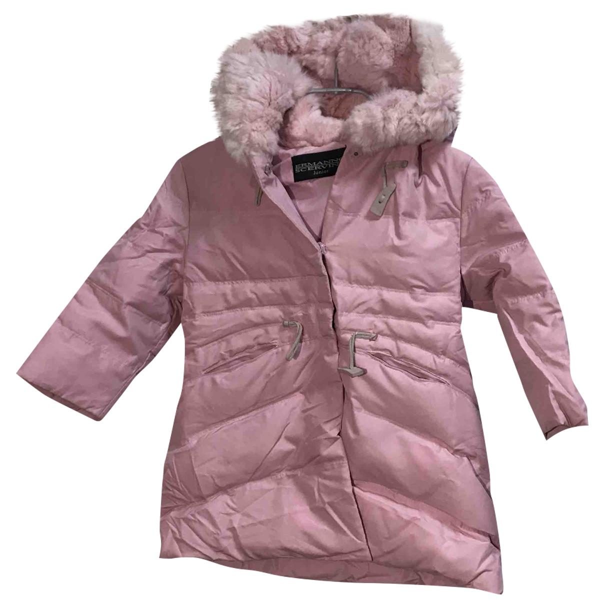 Ermanno Scervino - Blousons.Manteaux   pour enfant - rose