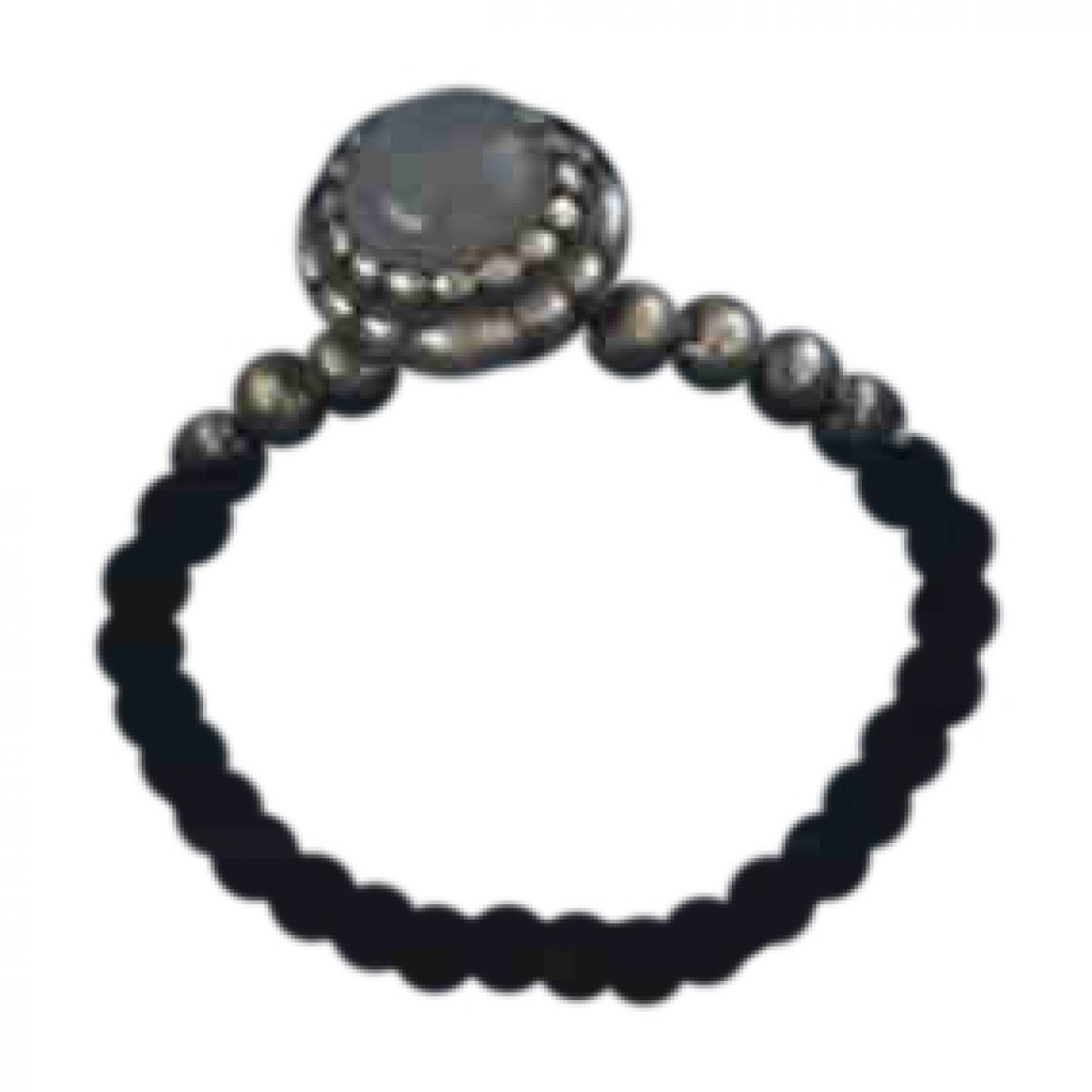 Pandora - Bague   pour femme en argent - gris