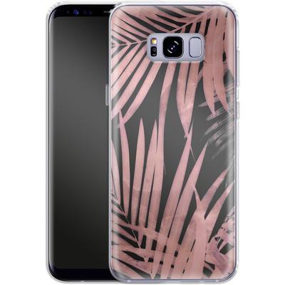 Samsung Galaxy S8 Plus Silikon Handyhuelle - Delicate Jungle Art von Emanuela Carratoni