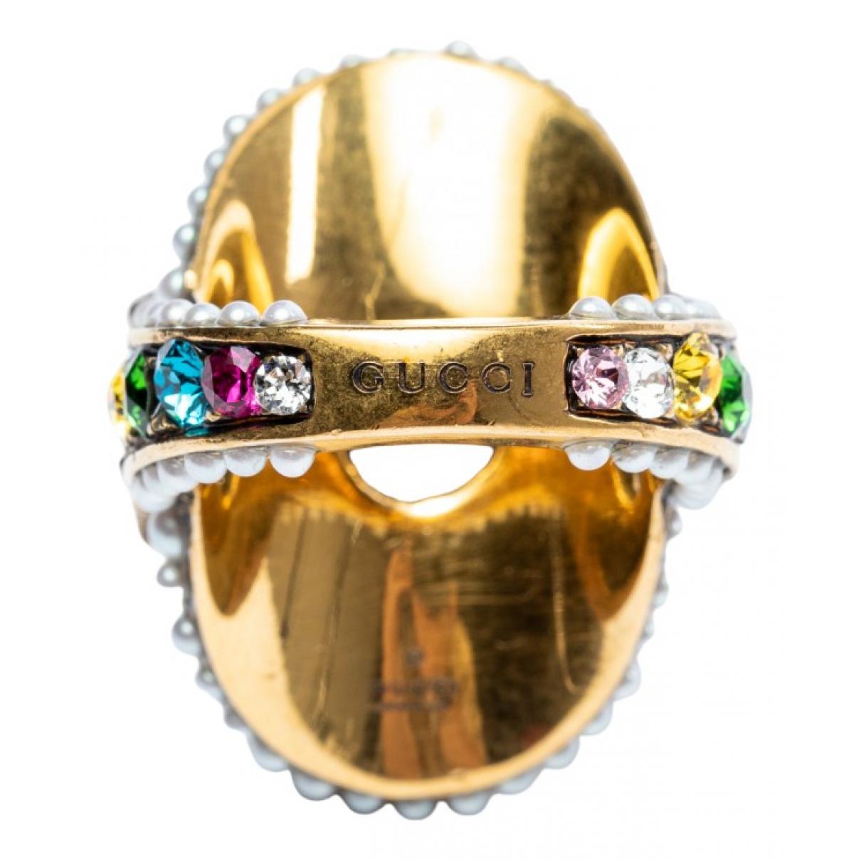 Gucci - Bague   pour femme en metal - multicolore