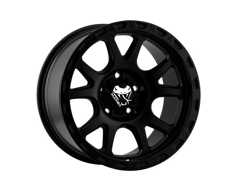 Mamba Wheels M277983N125 M27 Wheel 17x9 6x139.70x12 BKMTXX Matte Black