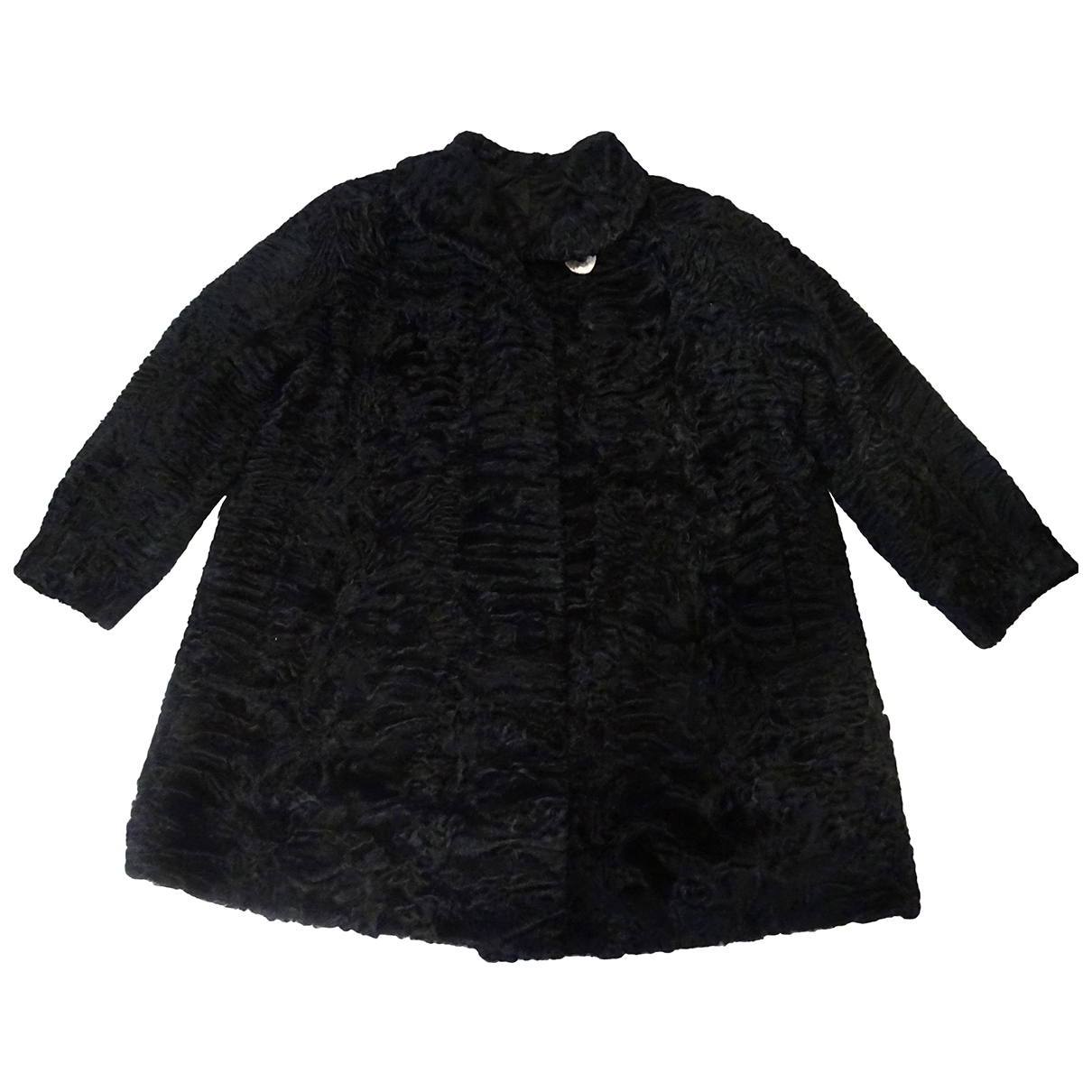 Non Signé / Unsigned \N Black Astrakhan jacket for Women L International