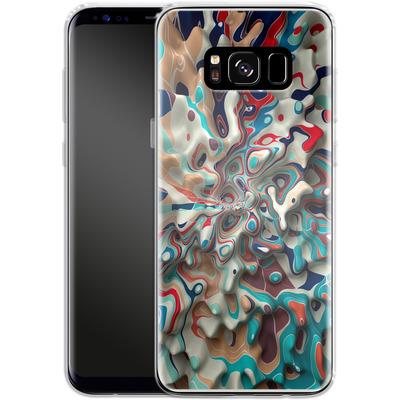Samsung Galaxy S8 Silikon Handyhuelle - Weird Surface von Danny Ivan