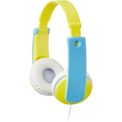 Écouteurs pour enfants JVC HAKD7Y, Jaune et Bleu - 424143