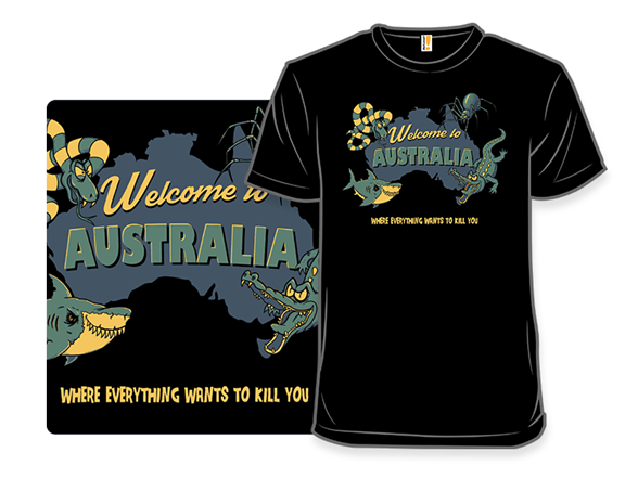 Welcome To Australia T Shirt