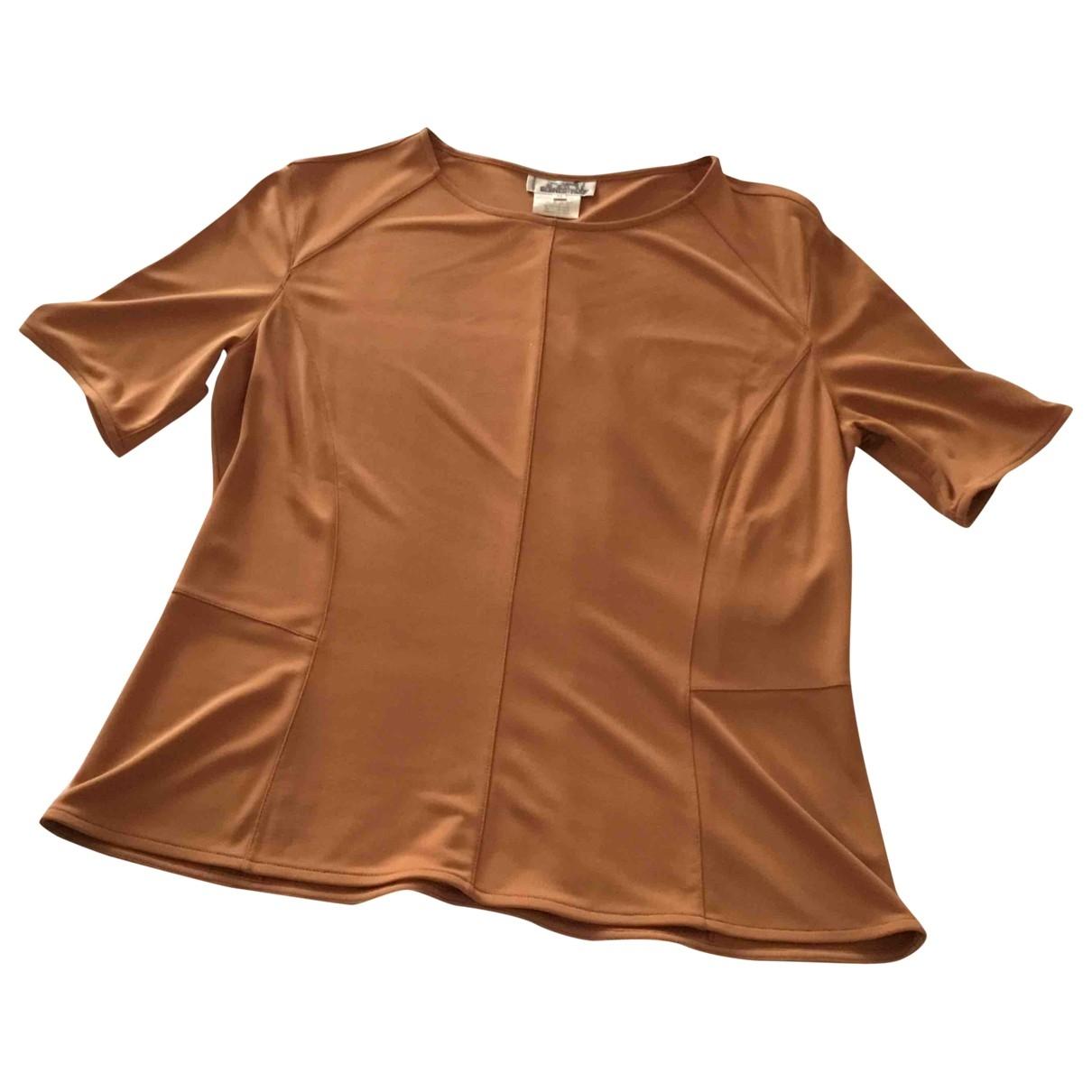 Hermès \N Brown  top for Women 44 FR