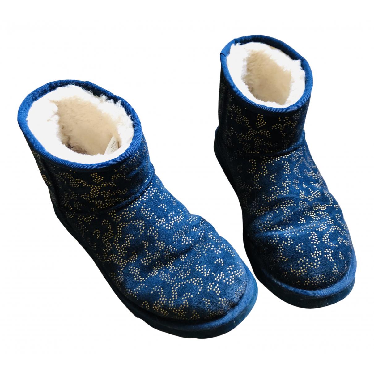 Ugg \N Stiefel in  Blau Fell