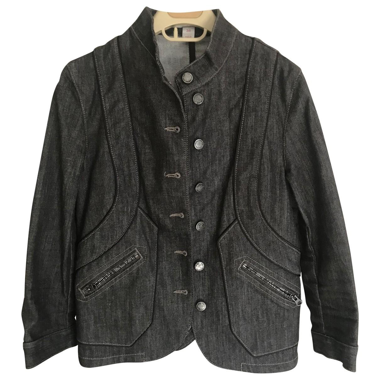 Stella Mccartney For H&m - Veste   pour femme en coton - gris