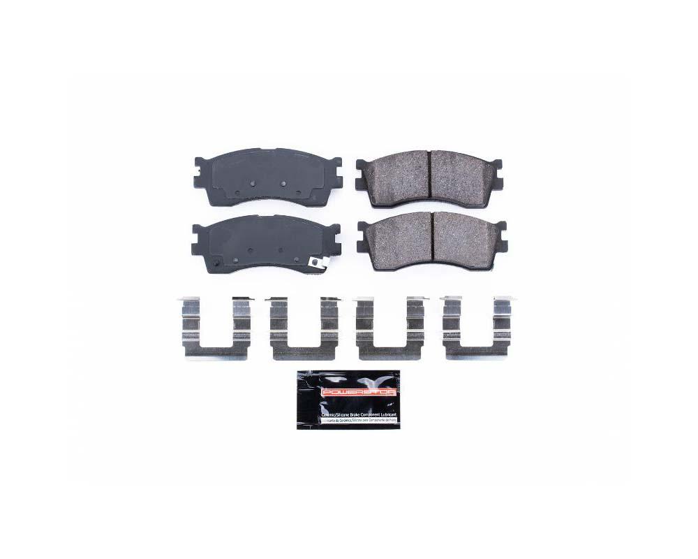 Power Stop Z23-889 Z23 Evolution Sport Brake Pads w/Hardware Front Kia Rio 2002-2005