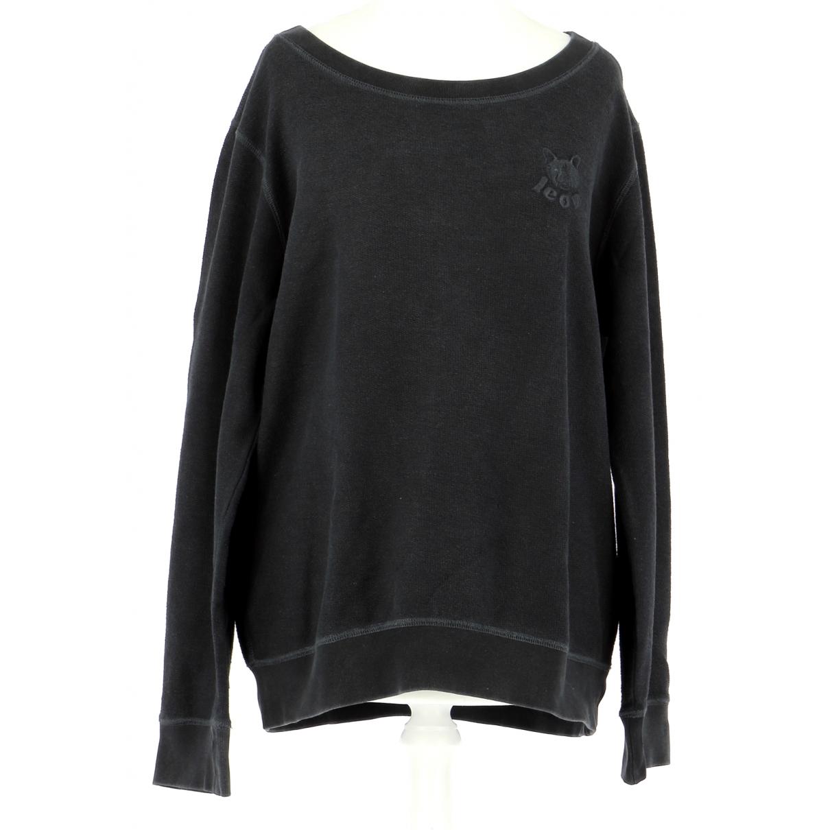 Comptoir Des Cotonniers \N Pullover.Westen.Sweatshirts  in  Schwarz Baumwolle