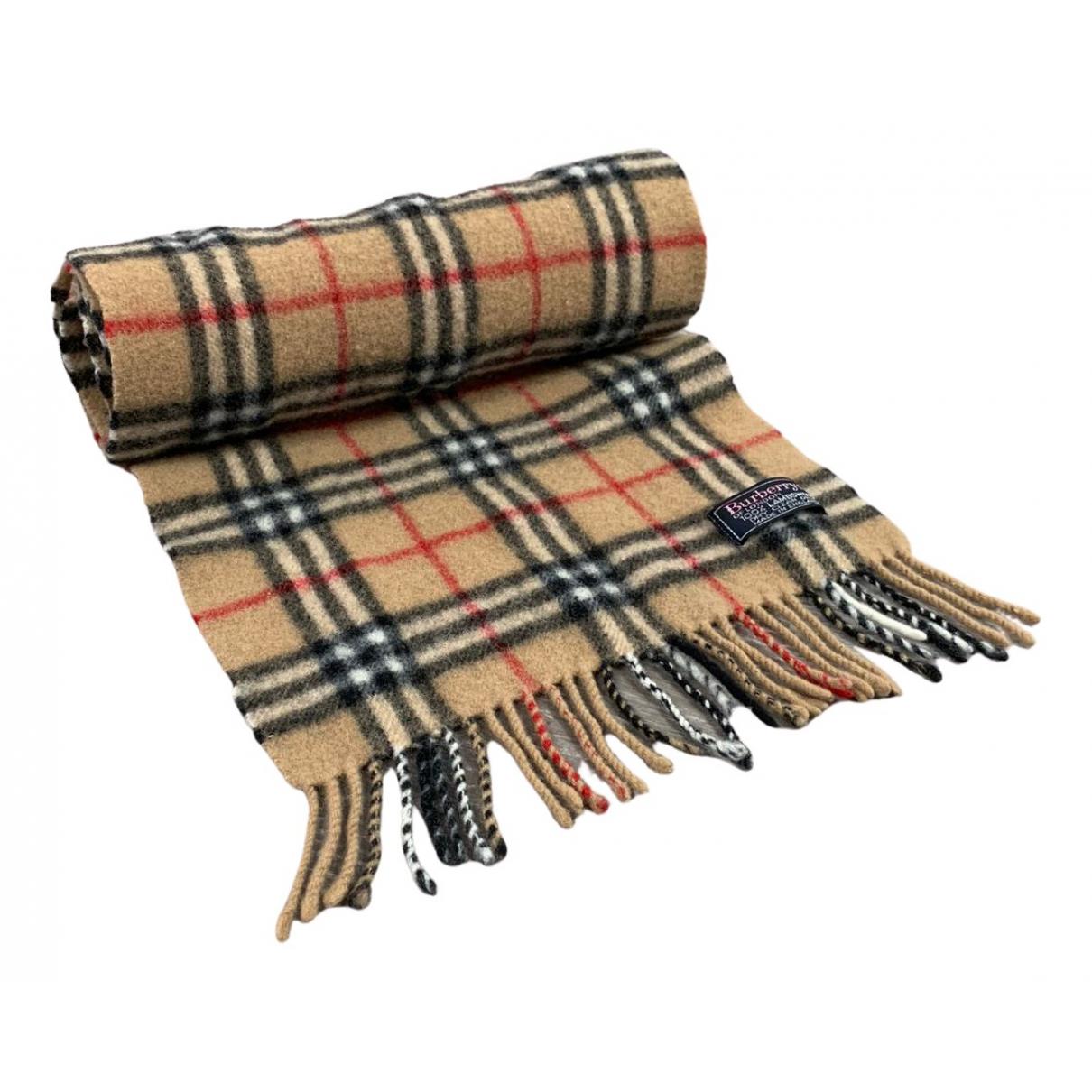 Burberry N Beige Wool scarf for Women N
