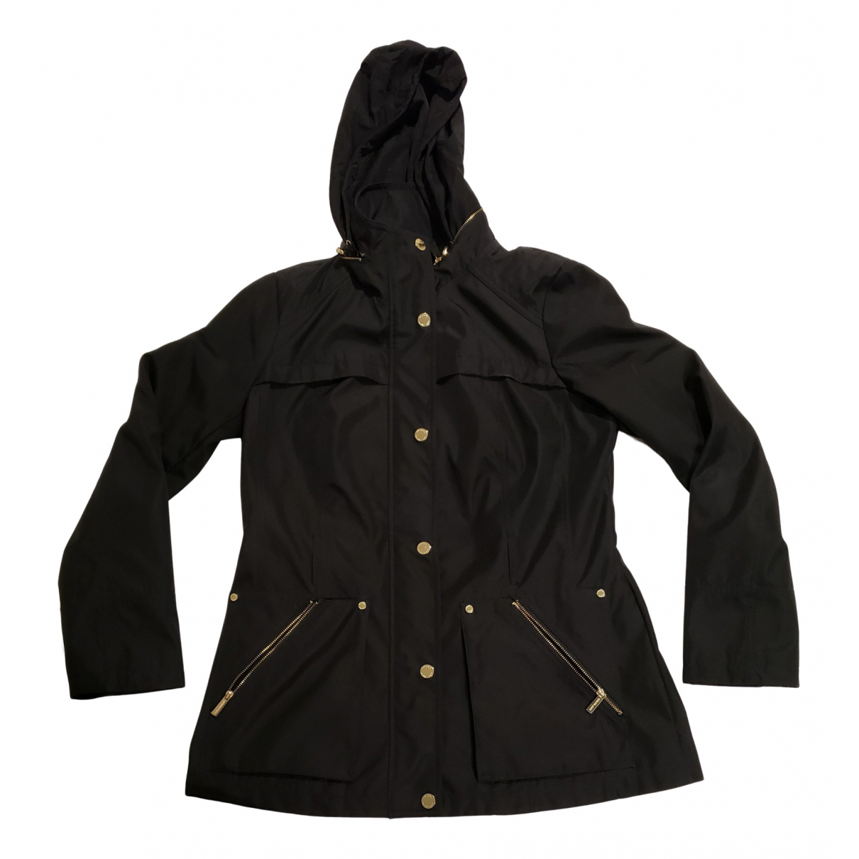 Michael Kors \N Trench in  Schwarz Polyester