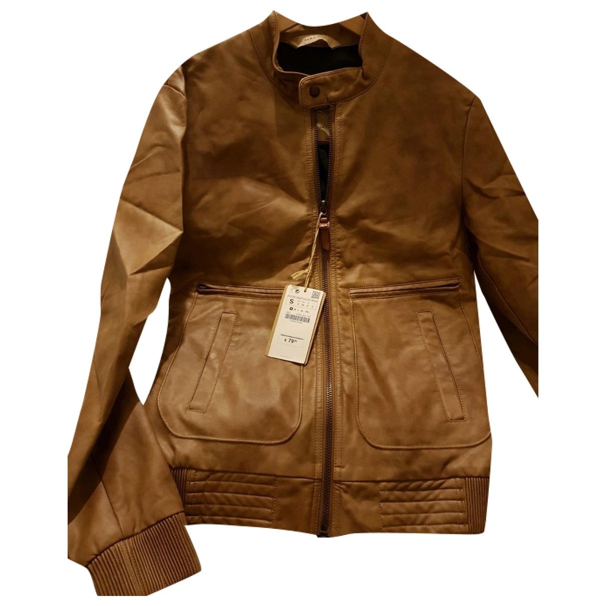 Zara \N Leather jacket  for Men S International