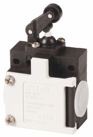 Eaton , Slow Action Limit Switch - Plastic, NO/NC, Roller Lever, 415V, IP65
